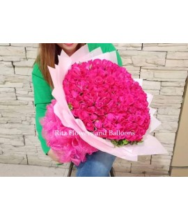 Two Hundred Pieces Long Stemmed Roses Bouquet